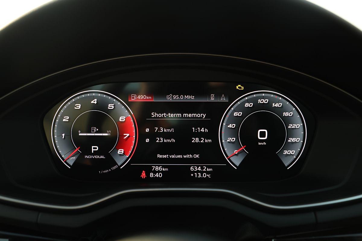 Audi's trademark Virtual cockpit now comes standard