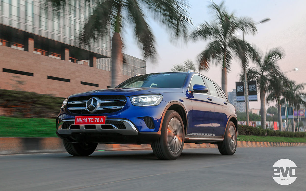 The 2021 Mercedes-Benz GLC is certainly a handsome SUV