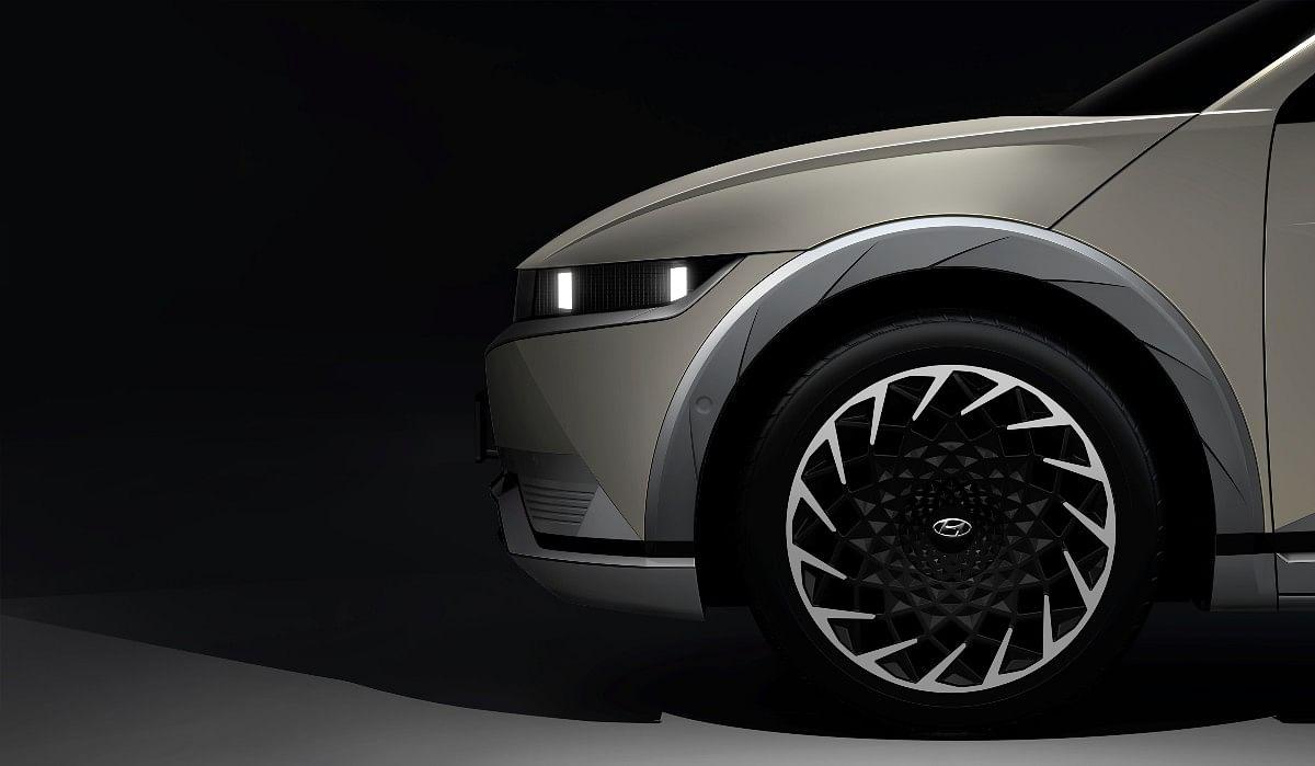 The Ioniq 5 gets massive 20-inch wheels