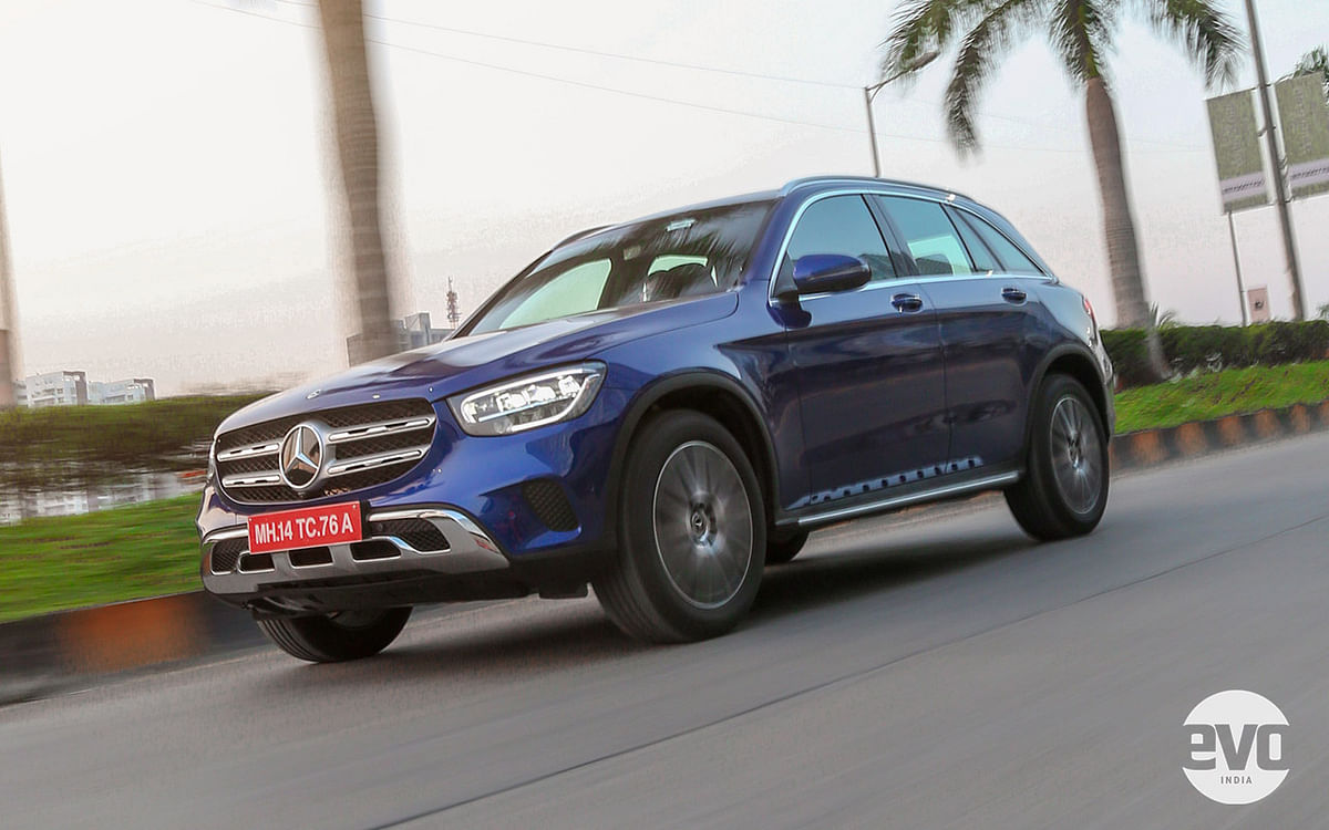 The GLC is a rather nice car to drive