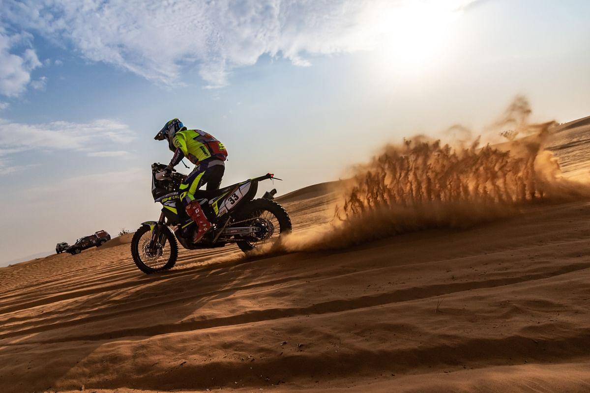 Dakar 2021 Stage 6 | Harith continues upward climb