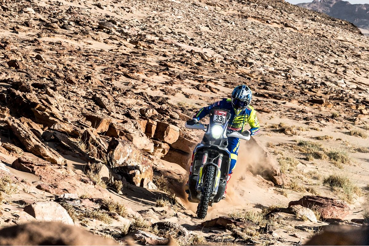 Dakar 2021: Harith Noah moves up the grid in Stage 3
