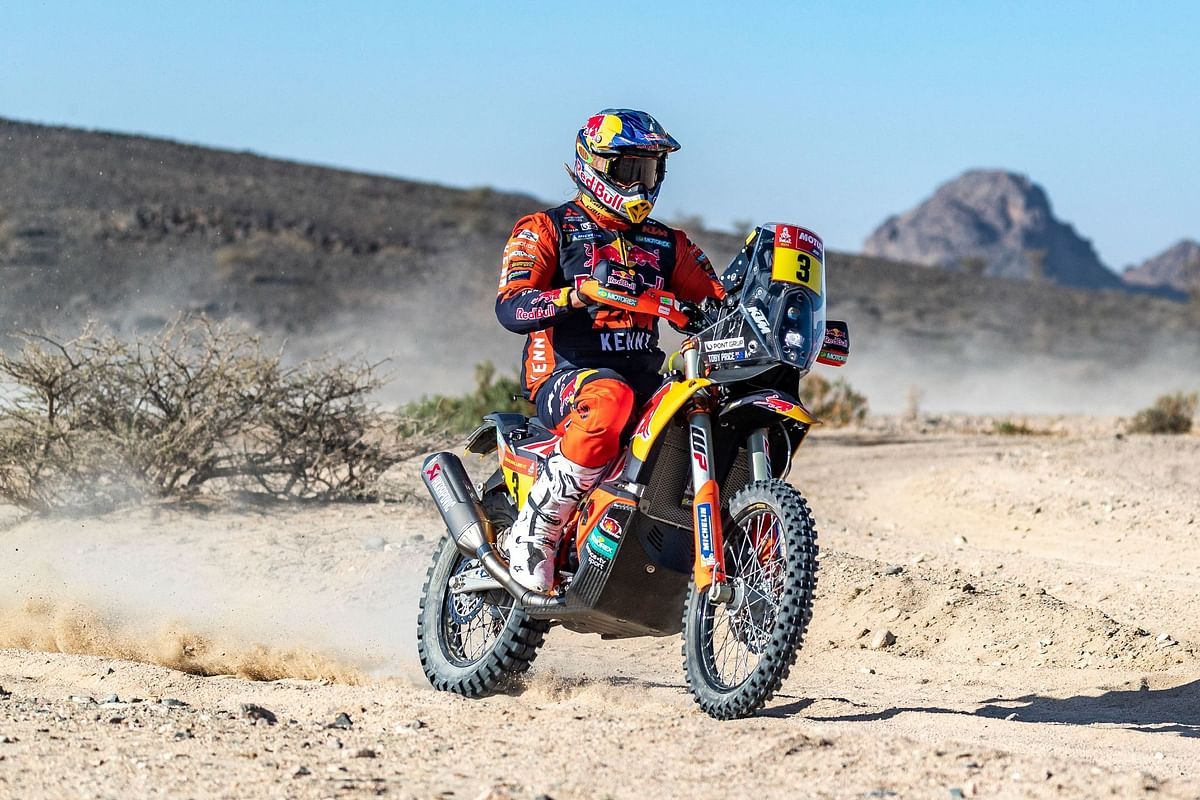 Stage three victory in Wadi Al-Dawasir is the 13th stage victory for Toby Price at the Dakar Rally