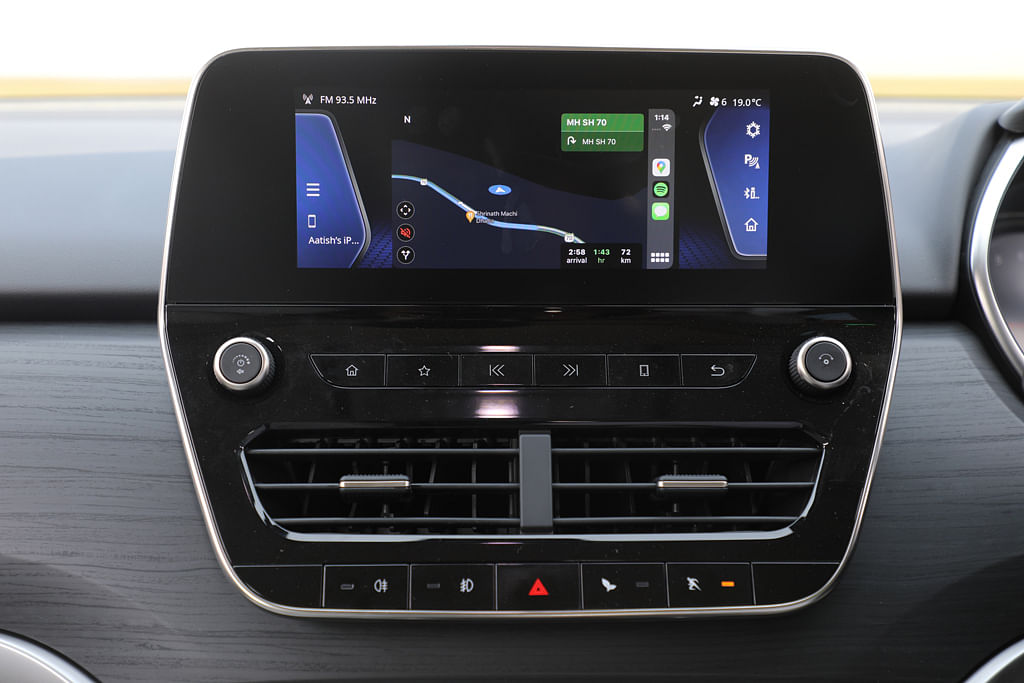 The Tata Safari touchscreen can be better