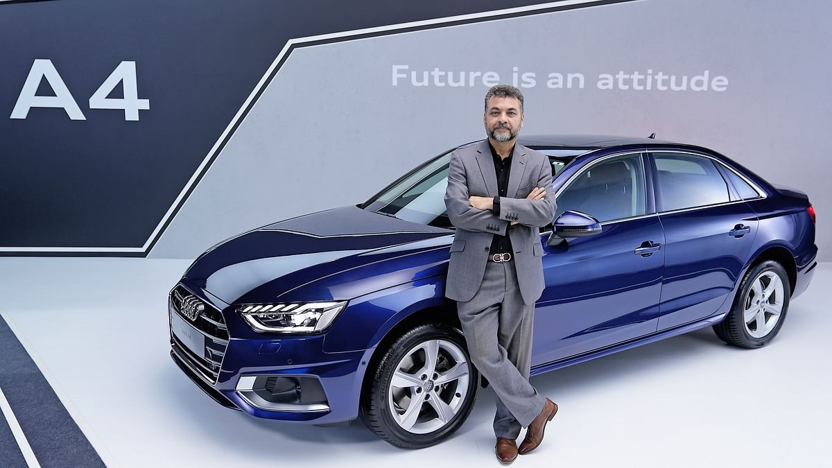 "Balbir Singh Dhillon, Head, Audi India on the A4 launch, says ""many more cars"" are headed our way"