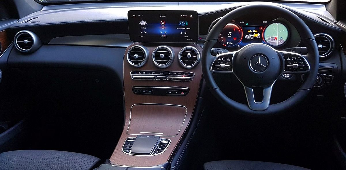 The 2021 GLC gets a fully digital instrument cluster