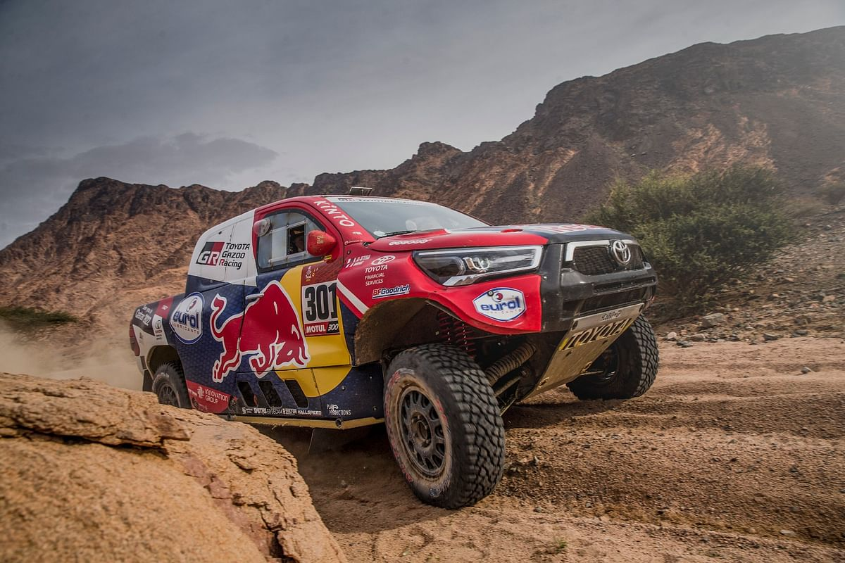 Dakar 2021 Stage 11 | Nasser Al-Attiyah of Toyota Gazoo Racing takes fifth stage victory