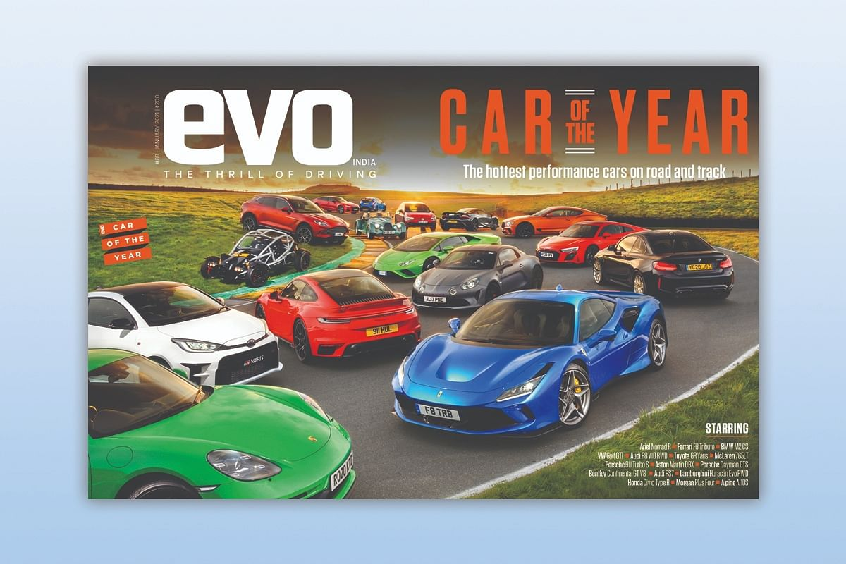 evo Car of the Year headlines the January 2021 issue of evo India