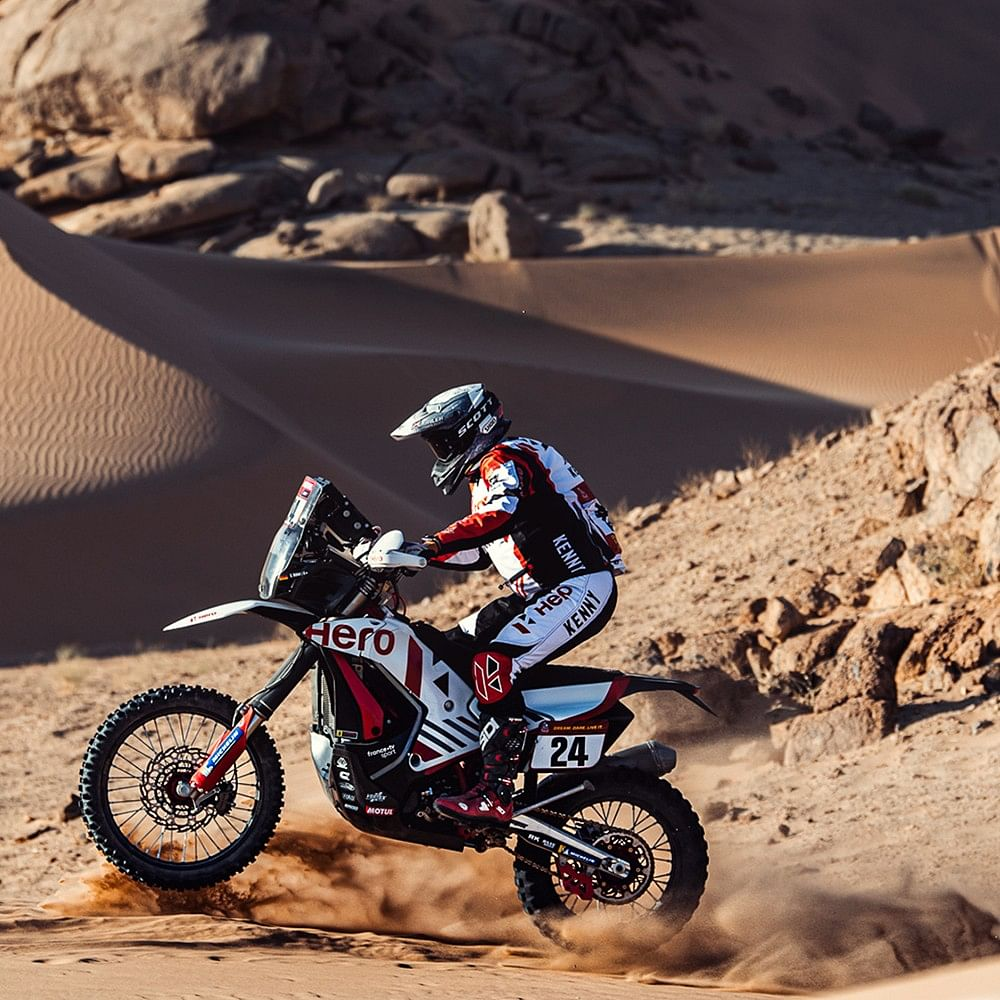 Sebastian Buhler was able to move up to P13 in the stage and P24 in the overall standings