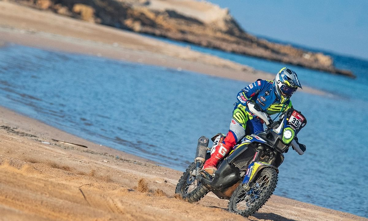 Harith overcame many hurdles to set a truly remarkable result in Stage 9 of the 2021 Dakar