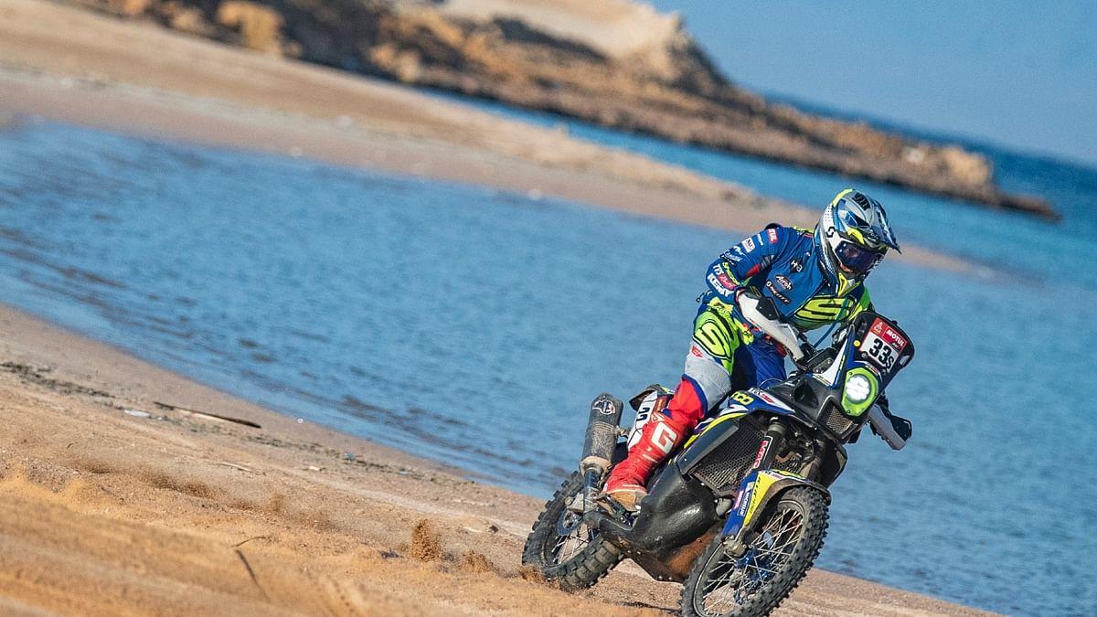 Dakar 2021 Stage 9   Harith Noah breaks into the top 25