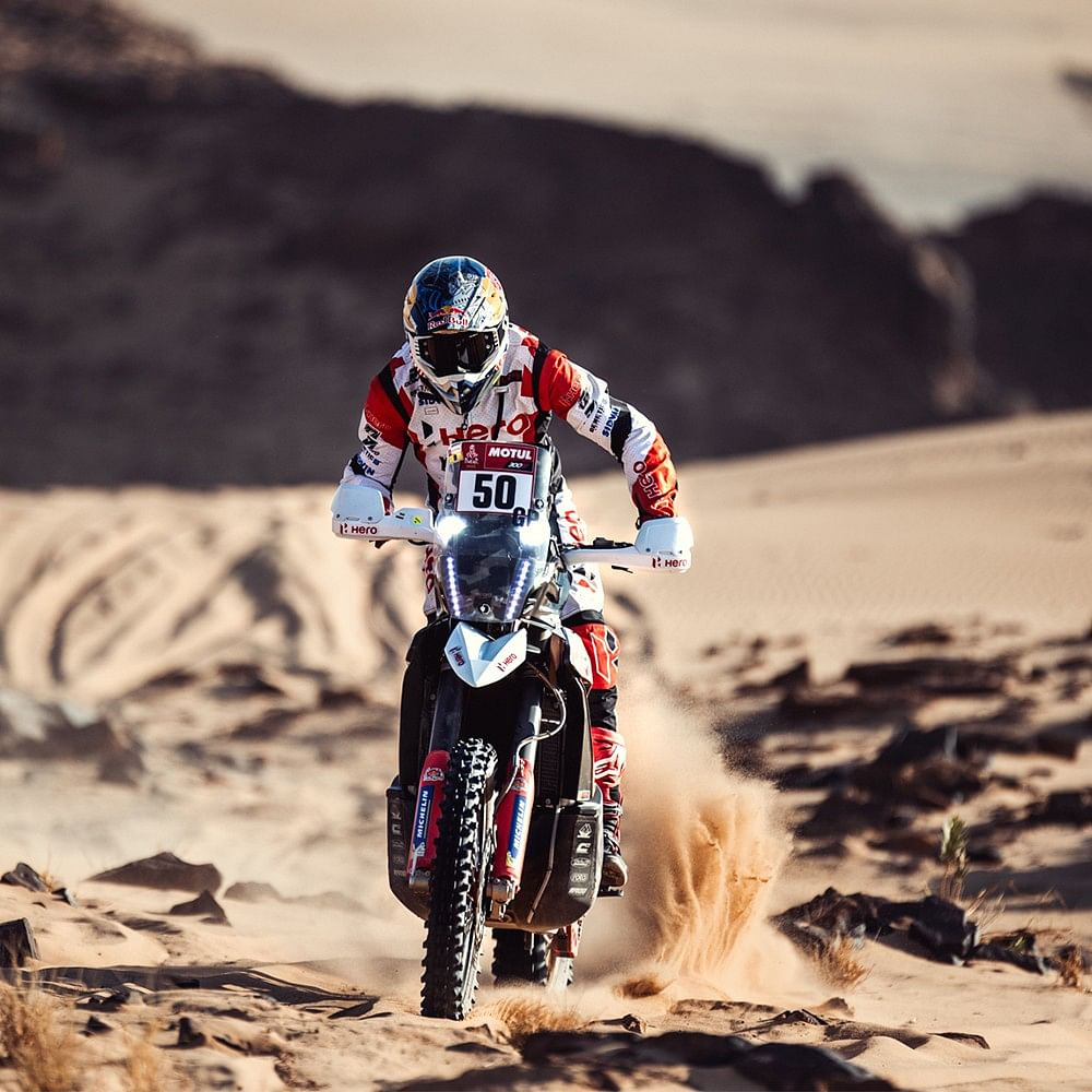 Dakar 2021: Mixed bag for Hero MotoSports Team Rally in Stage 3