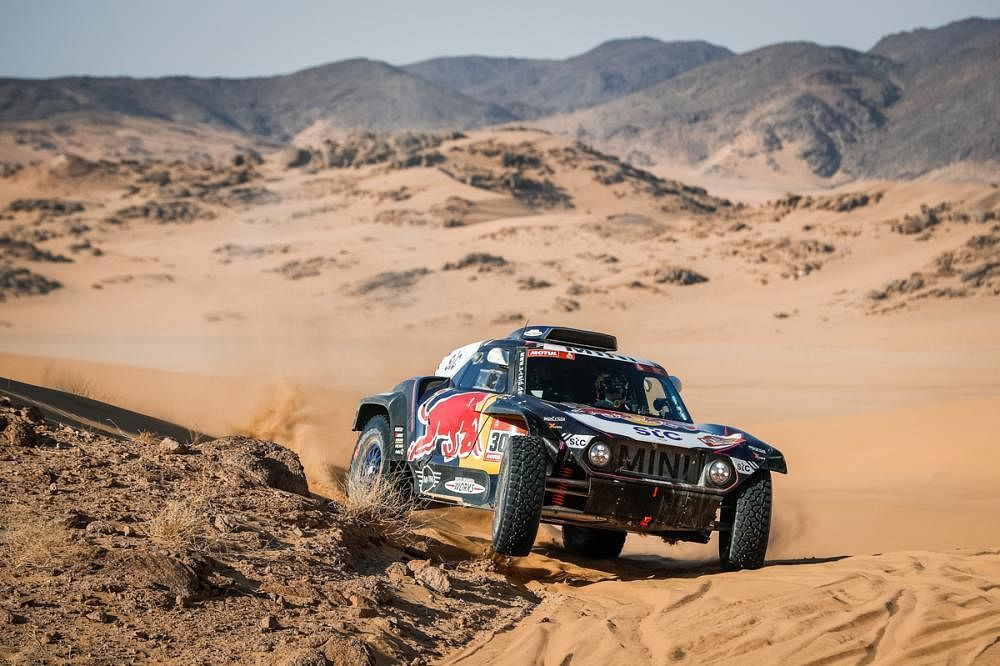 Dakar 2021 Stage two : Car results