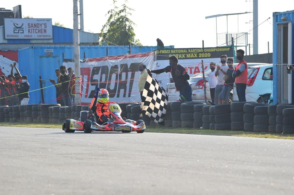 The thrill of karting