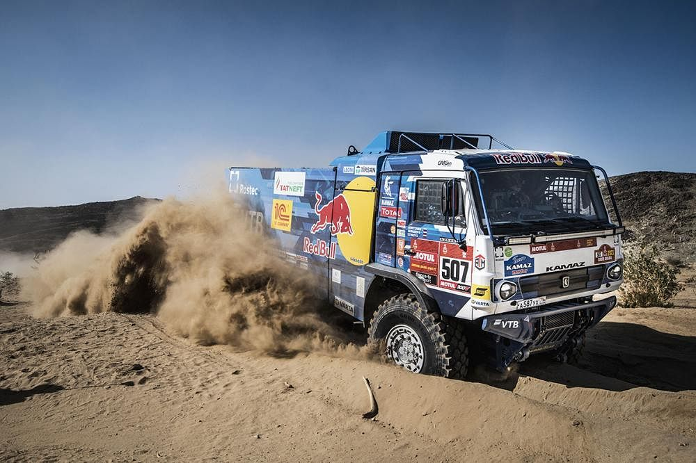 Four squads are registered at the 2021 Dakar under the name Kamaz Master