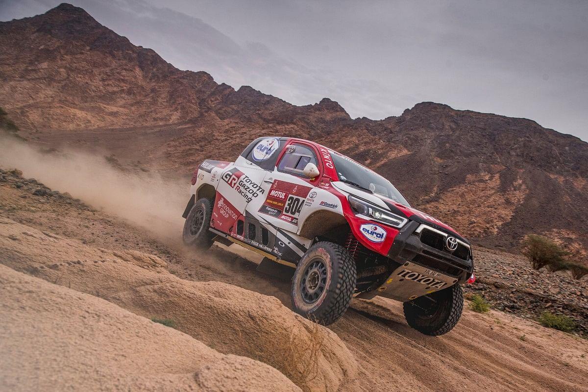 Giniel De Villiers of Toyota Gazoo Racing