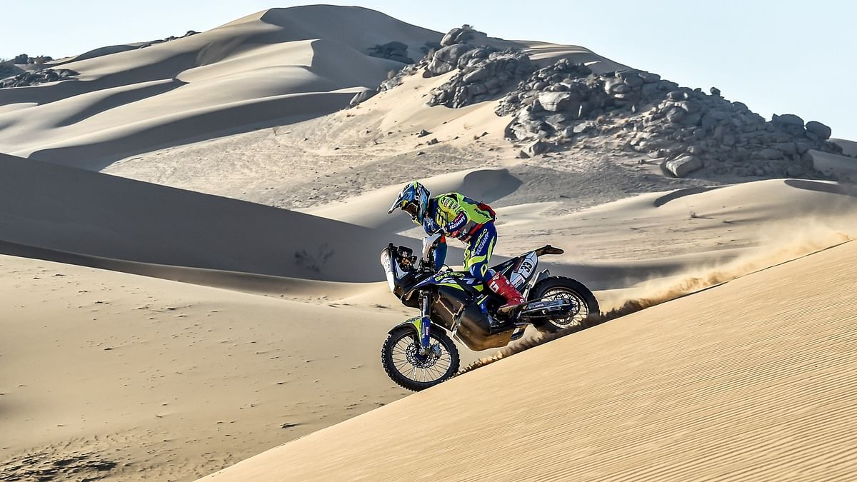 Dakar 2021: Harith Noah maintains his pace in stage 2