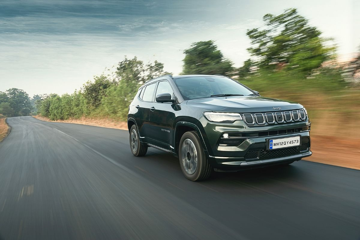 Jeep takes the covers off the Compass facelift