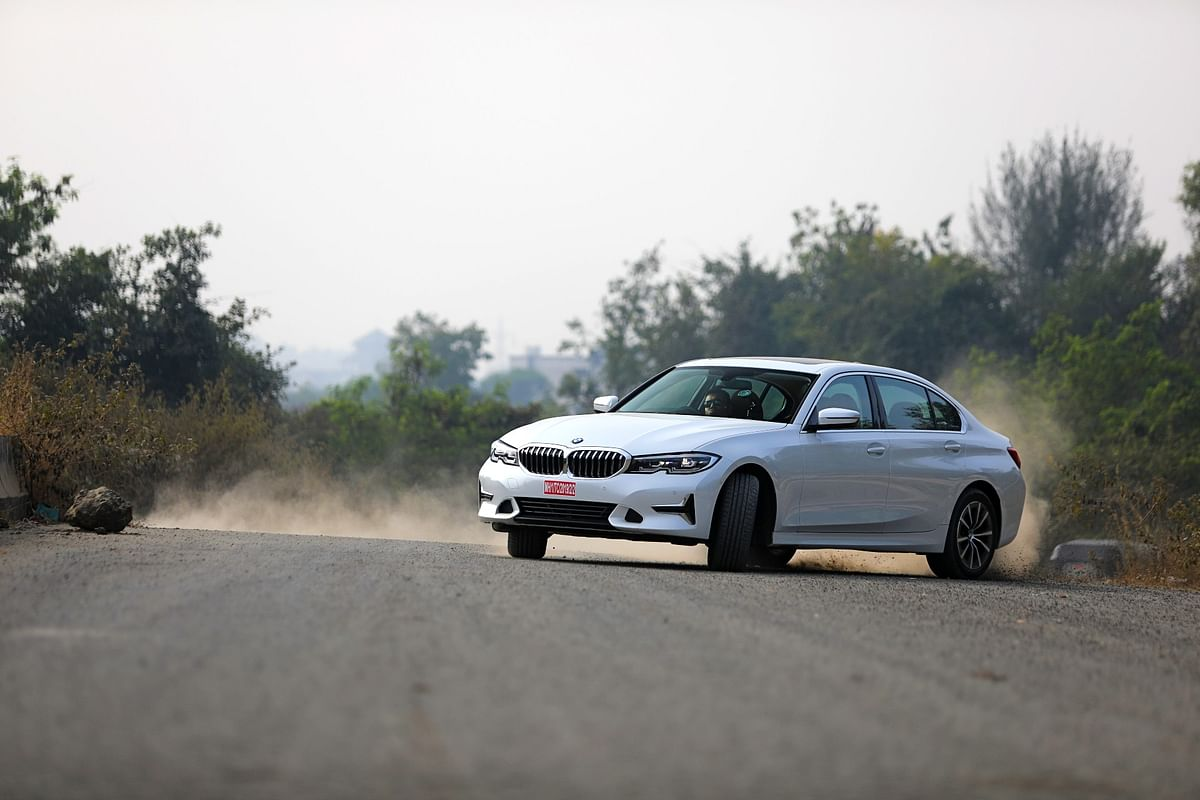 Despite the added length, the 3 Series hasn't lost its sportiness