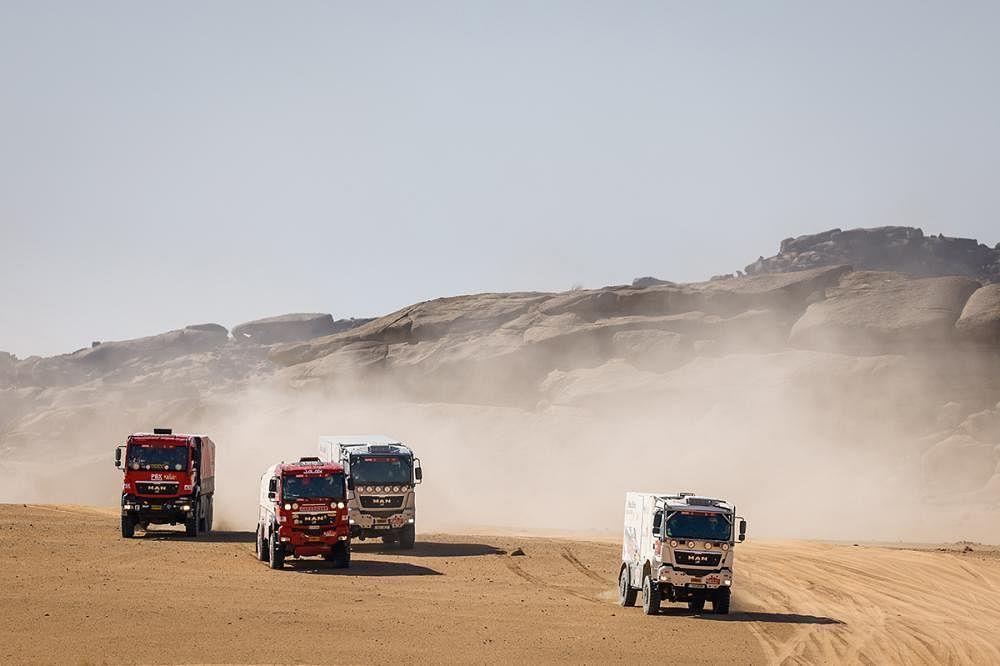 Team Kamz has four teams registered under its name in Dakar 2021