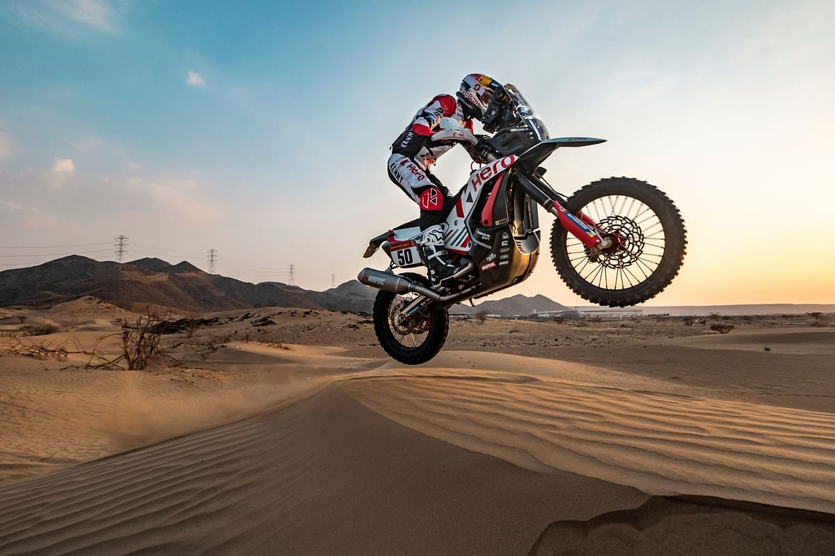 Dakar 2021: CS Santosh crashes out in Stage 4