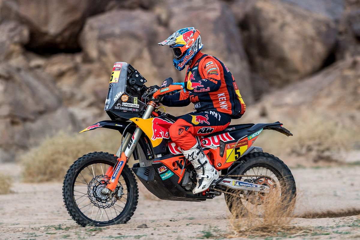Dakar 2021 Stage 11| Red Bull KTM Factory team's Sam Sunderland takes the win