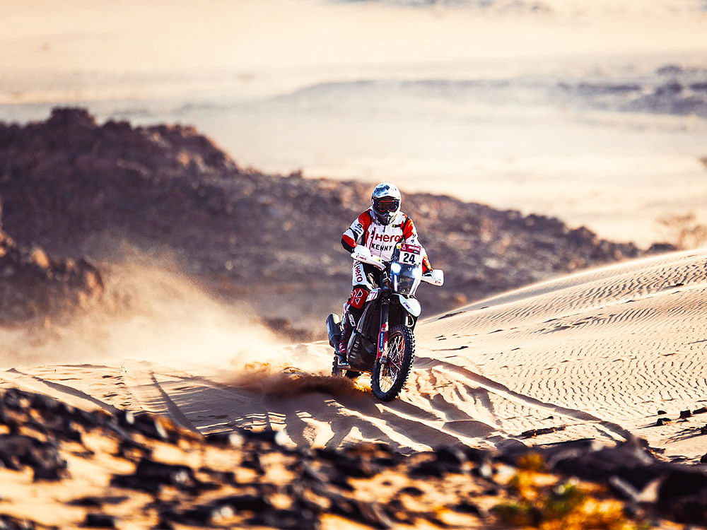Dakar 2021 Stage 4 | CS Santosh crashes out, Joaquim Rodrigues finishes strong