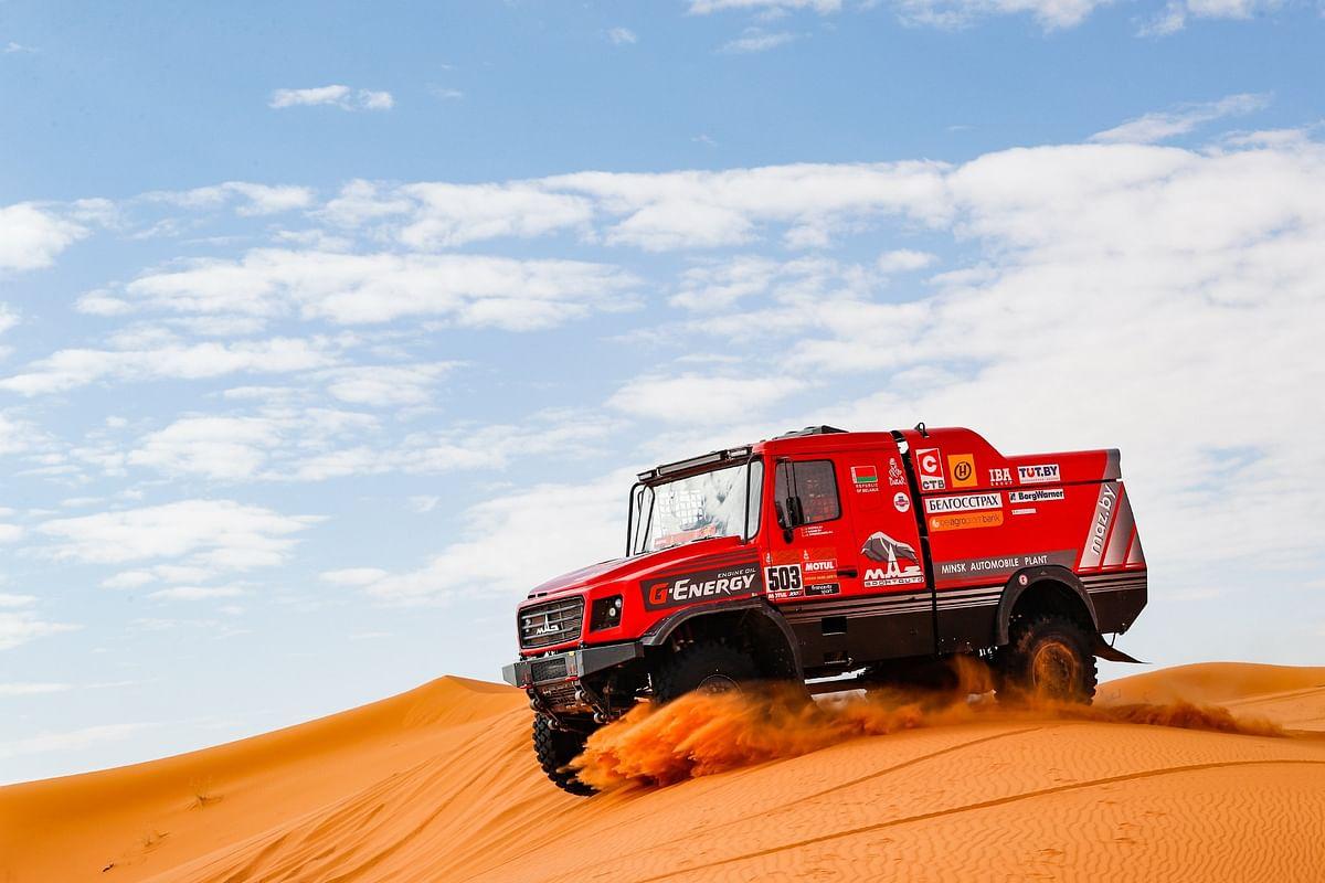 Dakar 2021: Maz-Sportauto's Siarhei Viazovich wins stage three