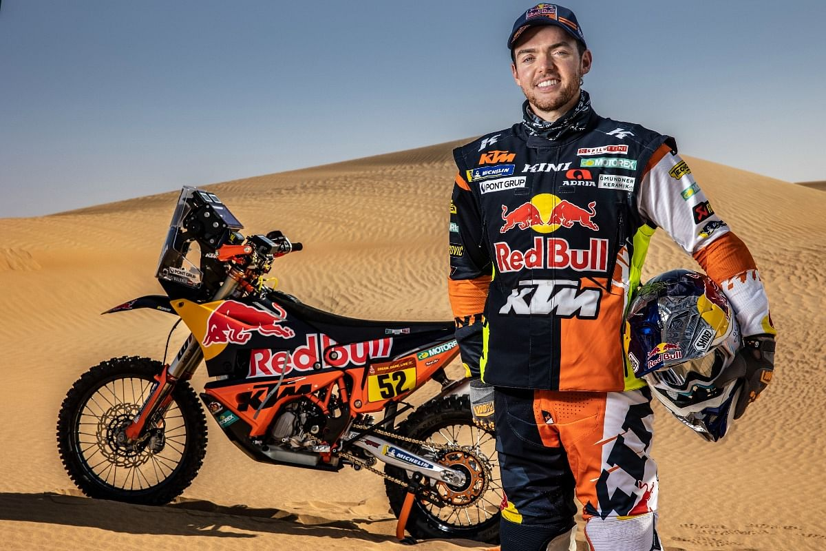 Matthias managed to win the 2018 Dakar