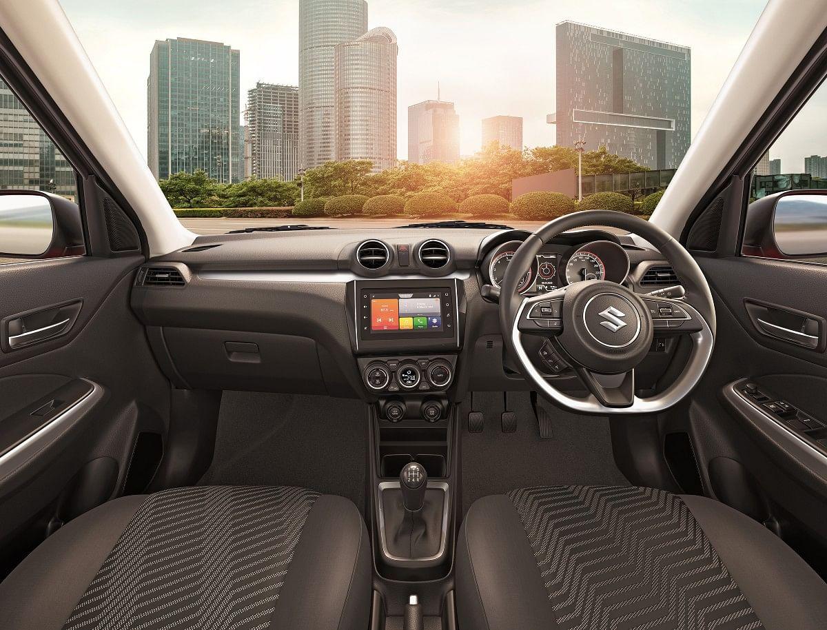 2021 Swift facelift interiors