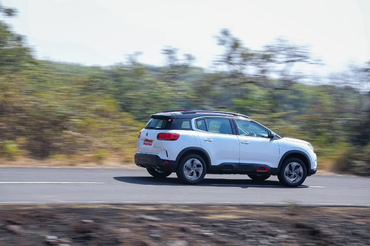 C5 Aircross is beautifully compliant over all kinds of roads and at all kinds of speeds