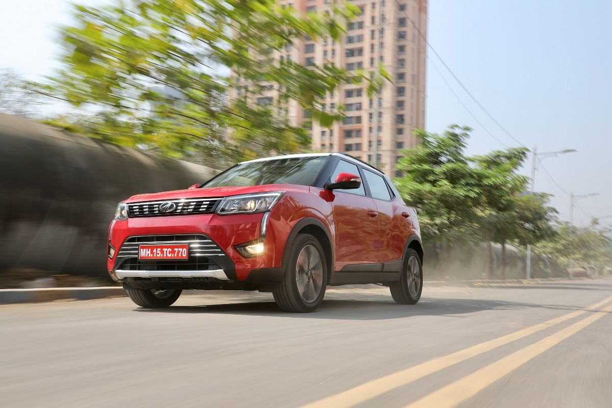 The Mahindra XUV300 Petrol Autoshift gets a new coat of paint, but styling hasn't changed at all