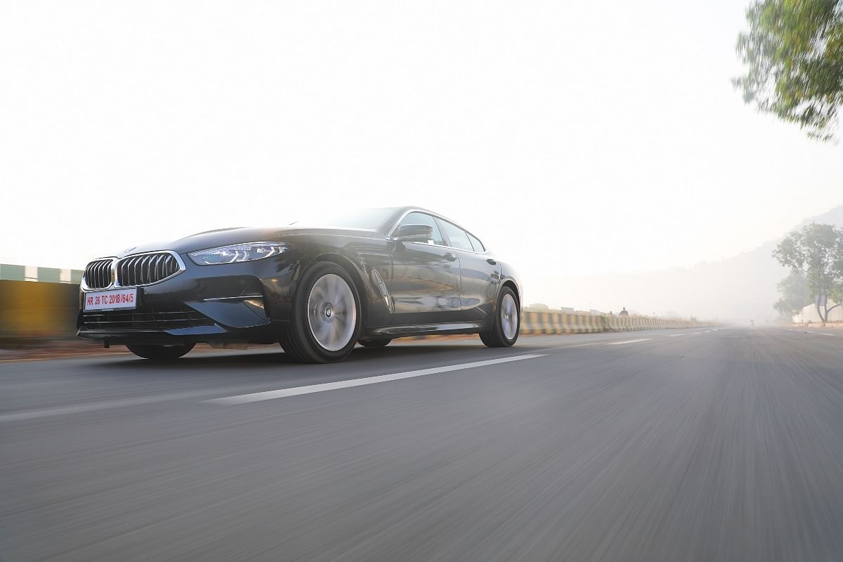 The 8 Series Gran Coupe 'M Sport Edition' adds a more aggressive body kit