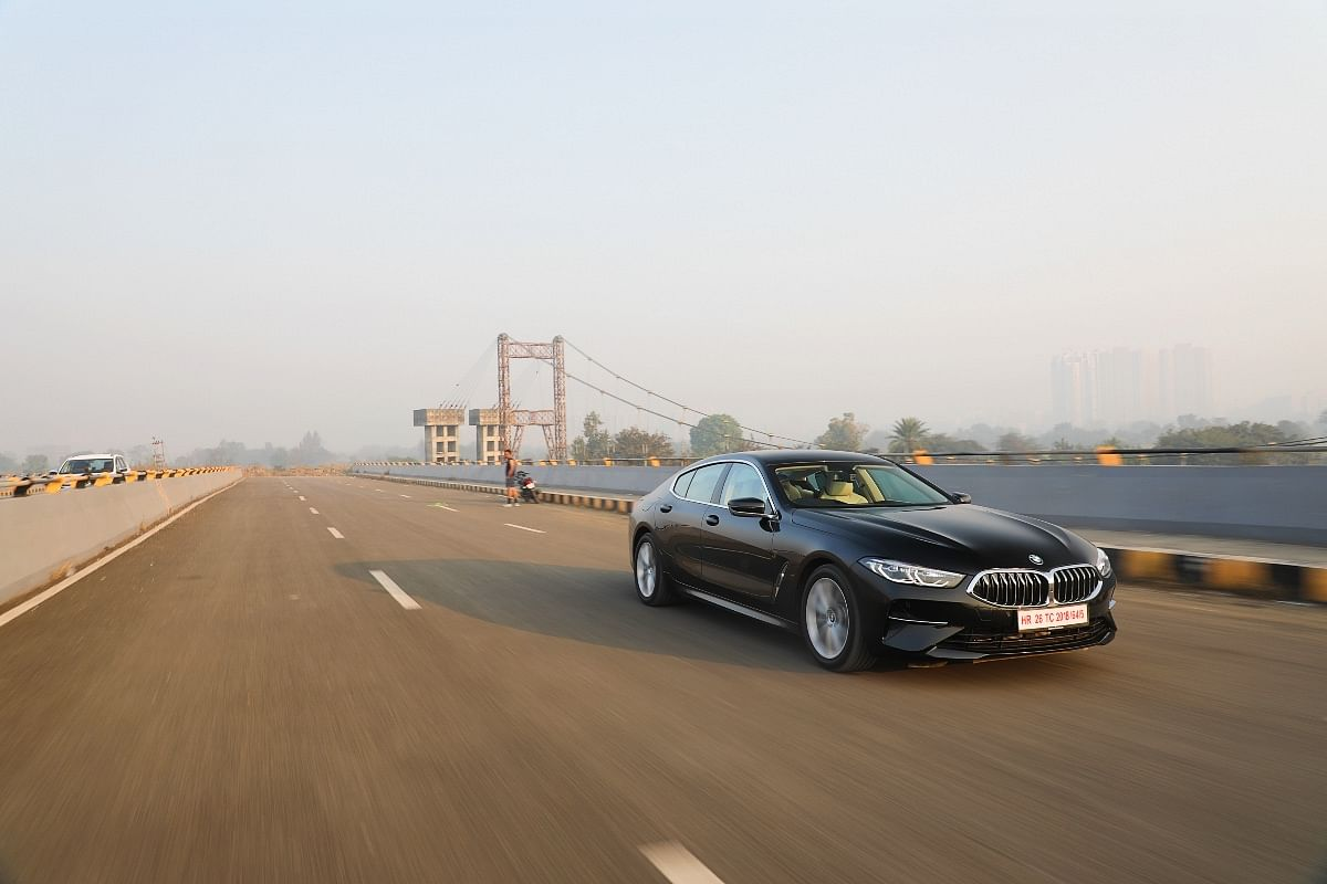 The 8 Series Gran Coupe is perfect for highway cruising