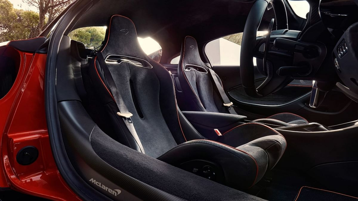 Hybrid, yes, but the Artura naturally retains the sporty interiors