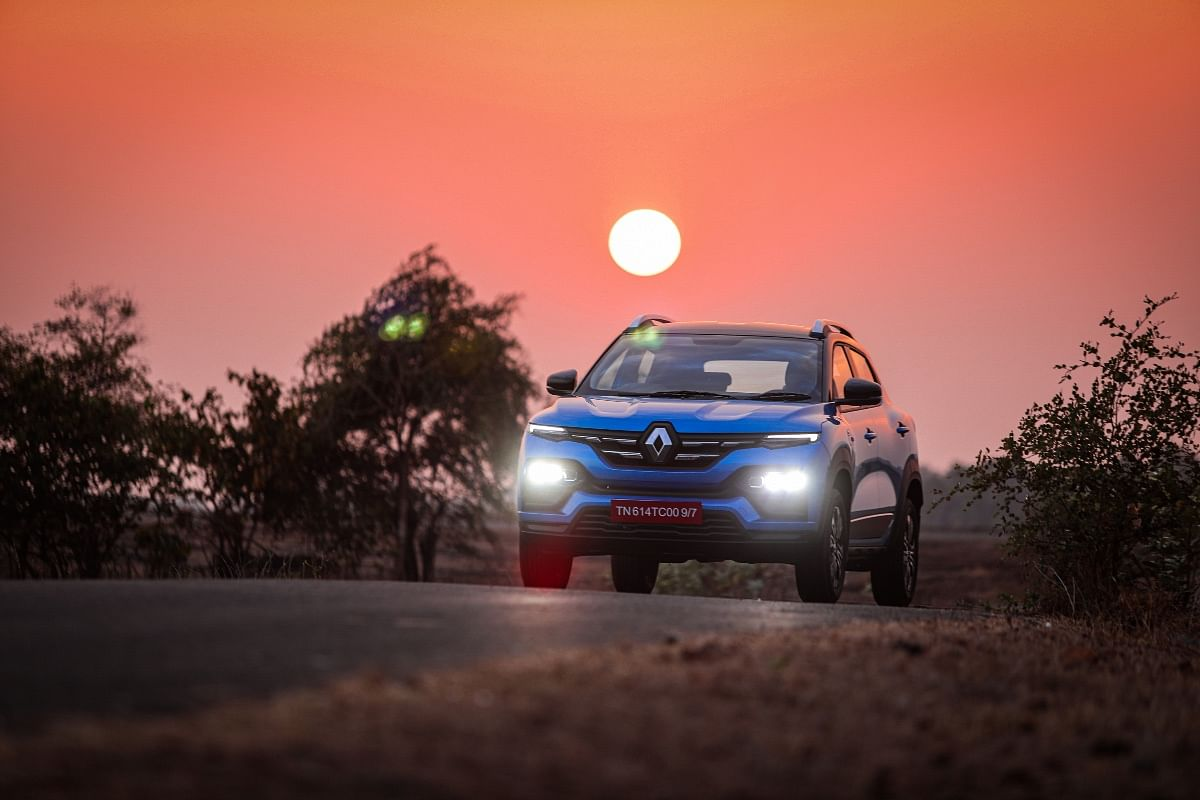Renault Kiger's stance isn't as upright as some rivals