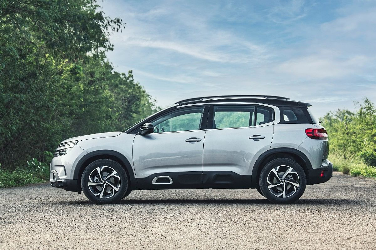 The Citroen C5 Aircross is big enough to house three individual rear seats that can be individually adjusted too