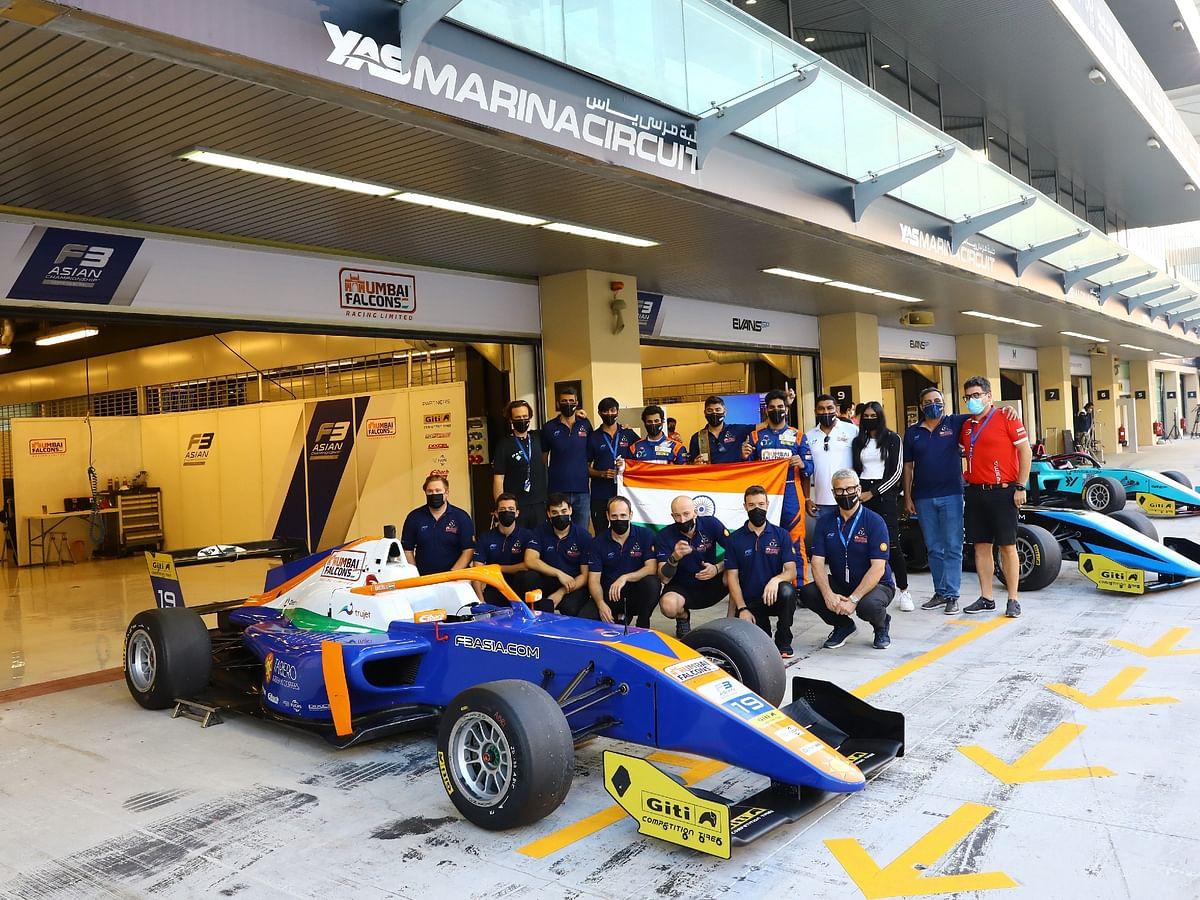 Mumbai Falcons clinch third place in the Formula 3 Asian Championship
