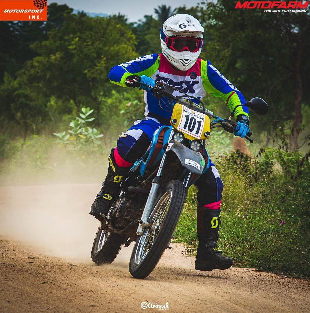 """""""My fascination towards motorcycle racing will never stop... Gas on! #13"""""""