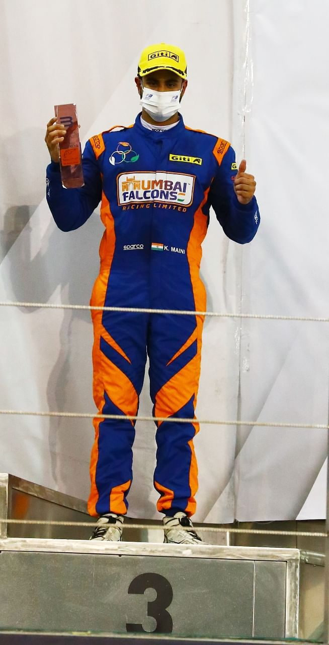 Jehan Daruvala bagged the third place in the overall driver's stadings