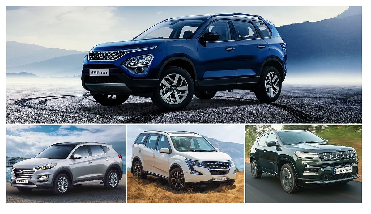 New Tata Safari v Jeep Compass, Mahindra XUV500, Hyundai Tucson: Price comparison