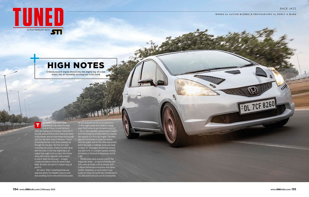 Leading the tuned section is the RaceJazz! We even have the most powerful Ford Fiesta and everything you need to know about brakes