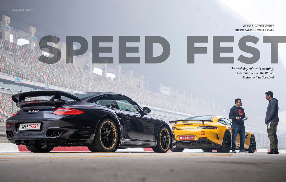 High-speed adrenaline rush with supercars in the Speed fest