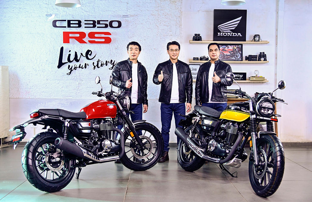 Honda's second entry into the 350cc space