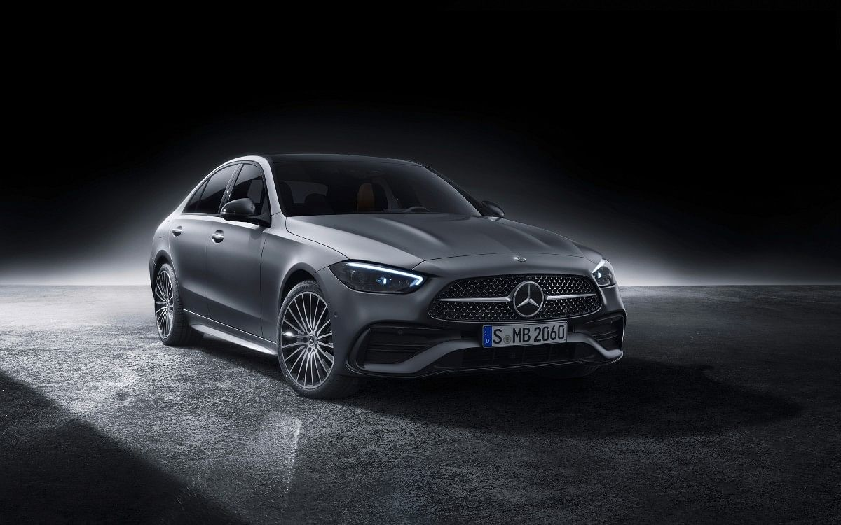 The new C-Class will share its MRA-derived platform with other Mercedes models such as the E- and S-Class, and indeed the previous C-Class.