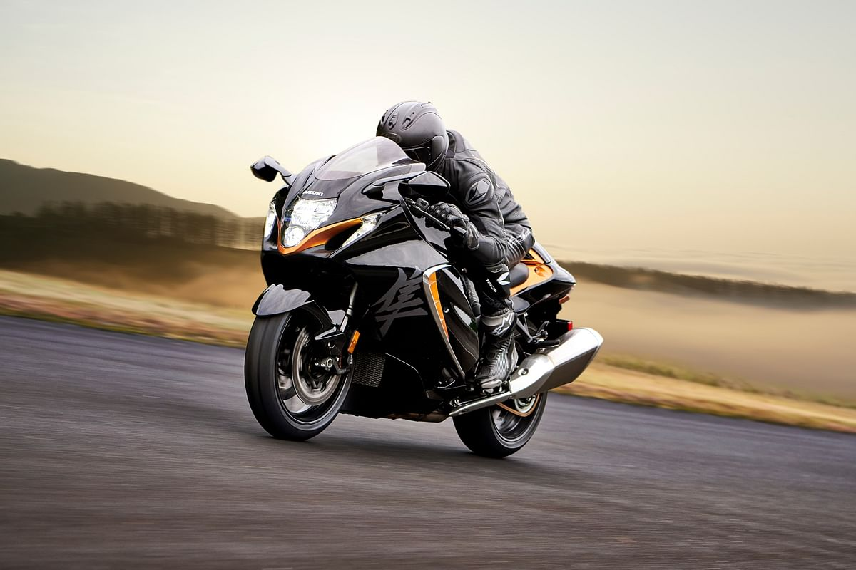 The new Hayabusa looks, well, unmistakable!