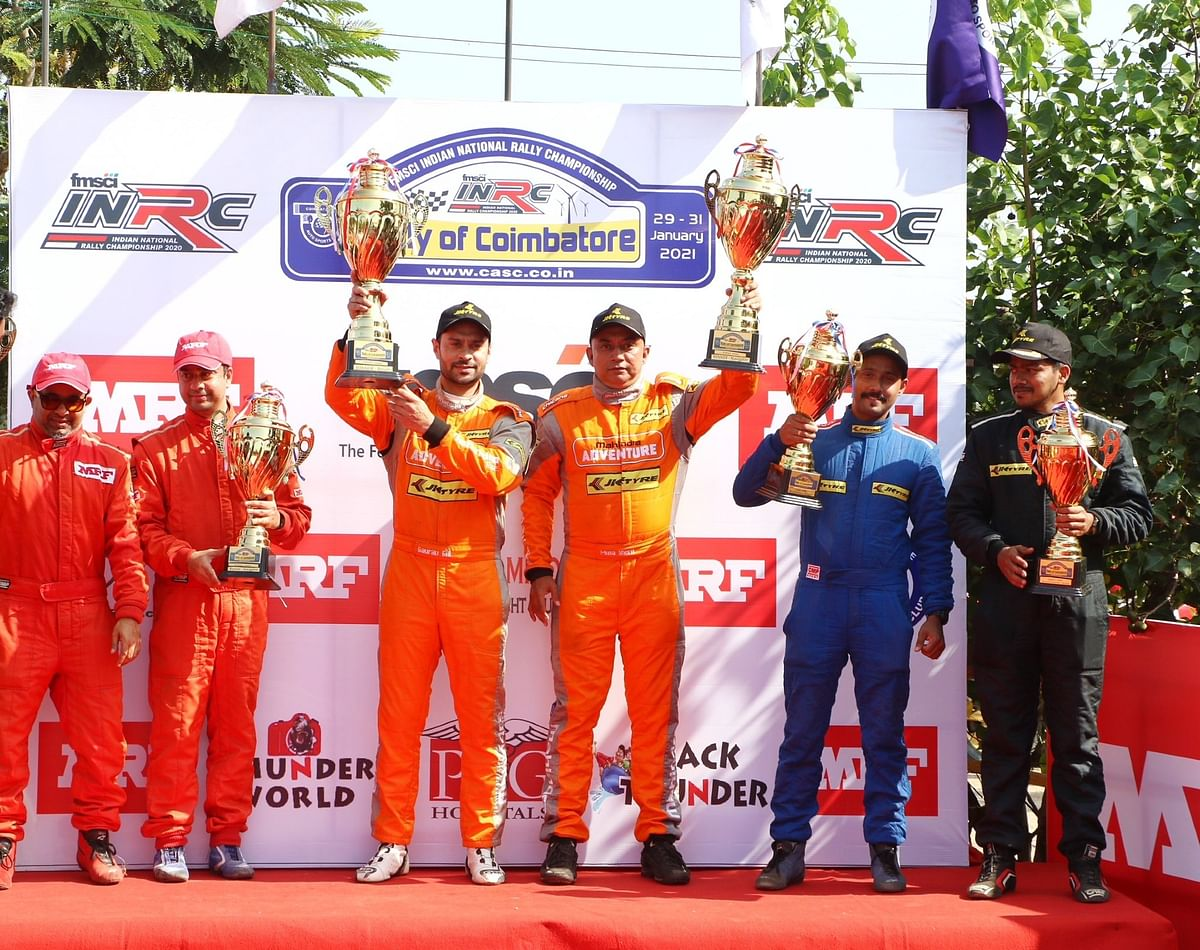 JK Tyre's Gaurav Gill wins Rally of Coimbatore
