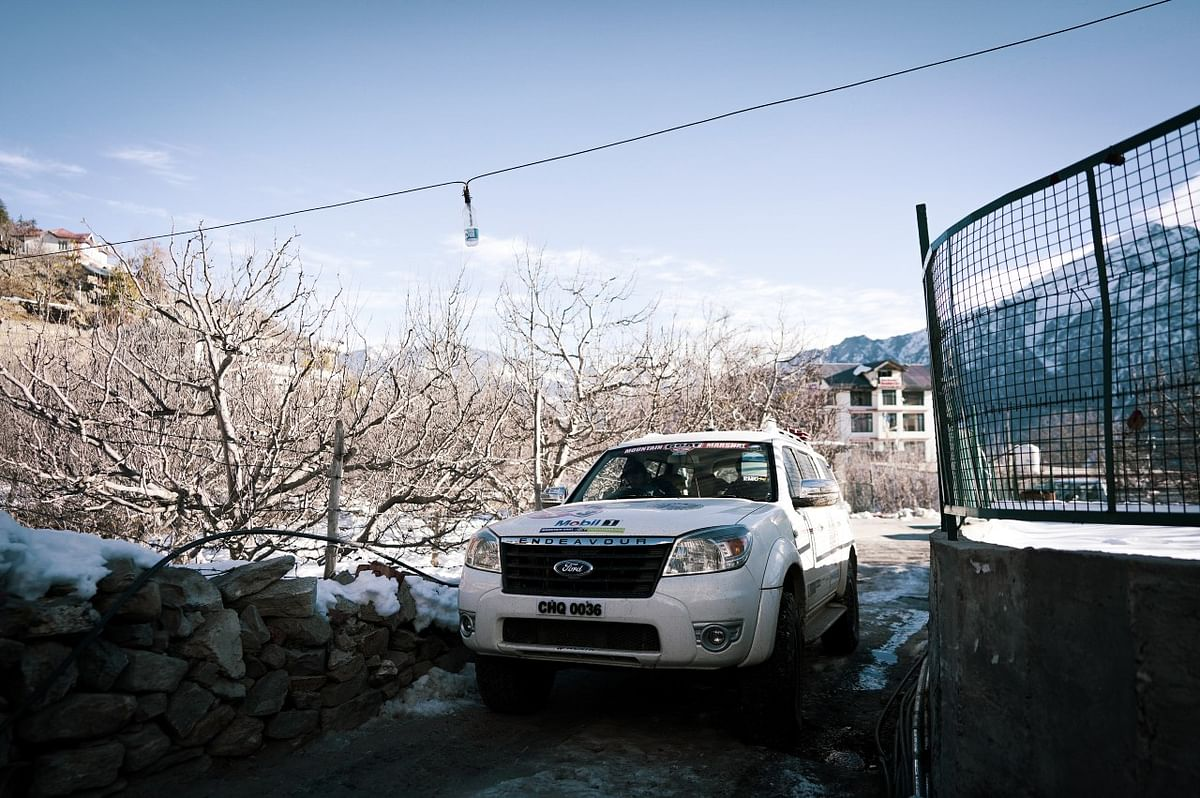 Vehicles of all brands were spotted at the Mountain Goat 4WD Winter Marathon 2021