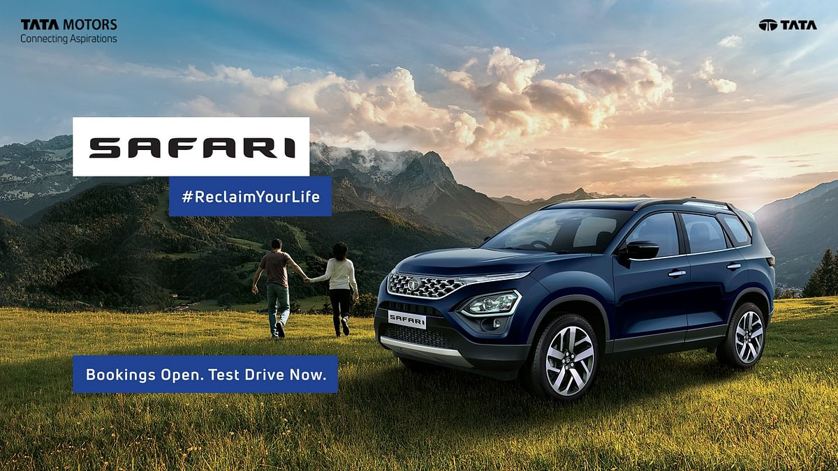 Tata Motors commences bookings of its new flagship SUV – the Safari