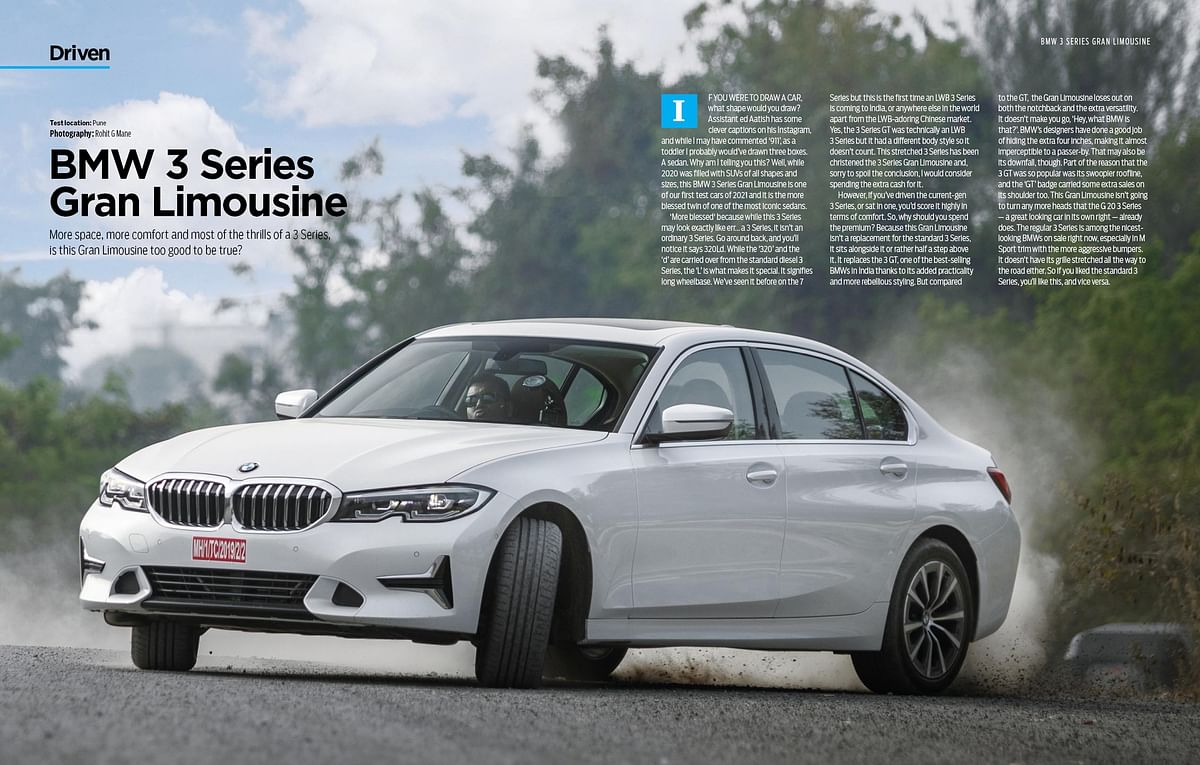We drive the stretched out 3 Series to find out how better it is than the standard 3 Series
